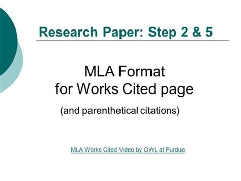 MLA Format: Everything You Need to Know Here - EasyBib Blog